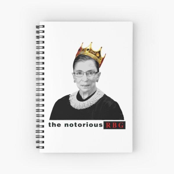 NOTORIOUS RBG Spiral Notebook