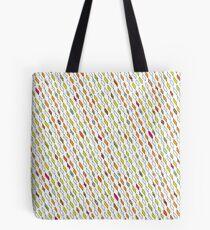 Diamonds Pen Pattern Tote Bag