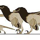 Velociraptor Family by JedTaylor