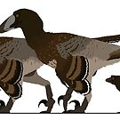 Deinonychus Family by JedTaylor