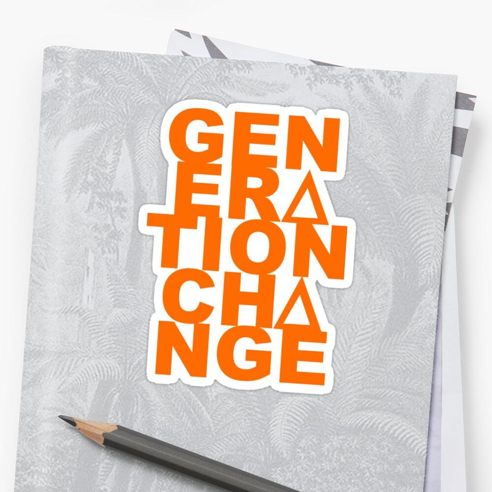 Generation Change Delta Logo by vlgaffney
