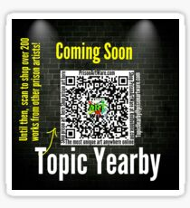 Topic Yearby Sticker