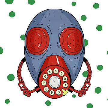 Phone gas mask by EdTupelo