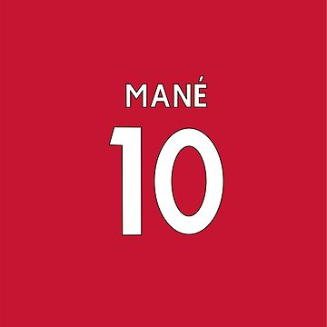 Mane LFC shirt by DanDobsonDesign