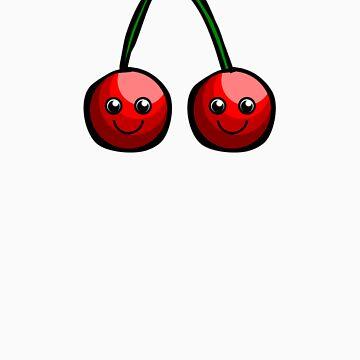 Cute Cherries by Hunniebee
