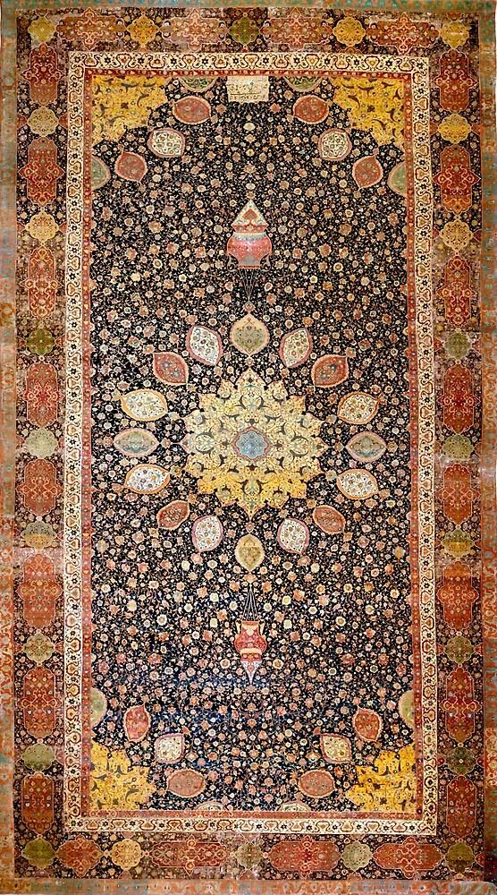 Ardabil Persian Carpet by Vicky Brago-Mitchell