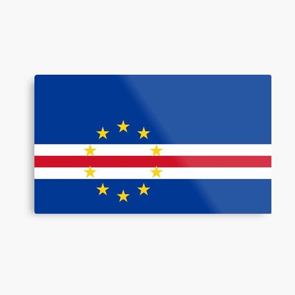 Cape Verde (Cabo Verde) Flag Design Metal Print