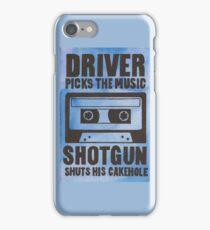 Driver Picks the Music iPhone Case/Skin