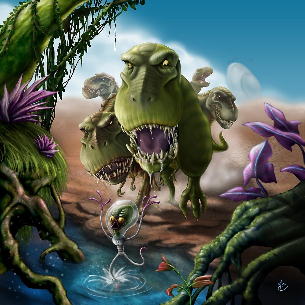 Terrible Lizards and Little Green Men by Lindsay Walker