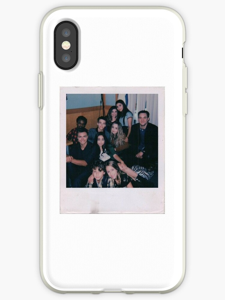 promo code f2b3a b7161 'Girl Meets World Cast Polaroid' iPhone Case by aesthtic