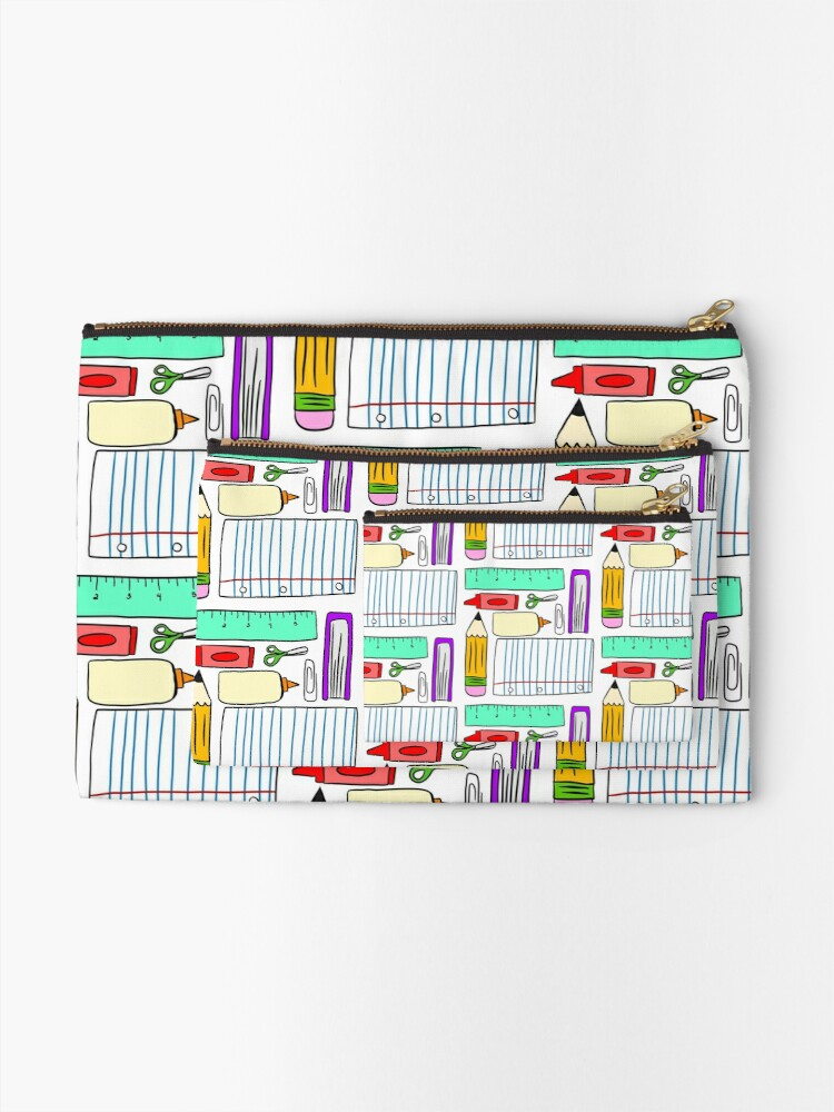Alternate view of Supplies Party Zipper Pouch