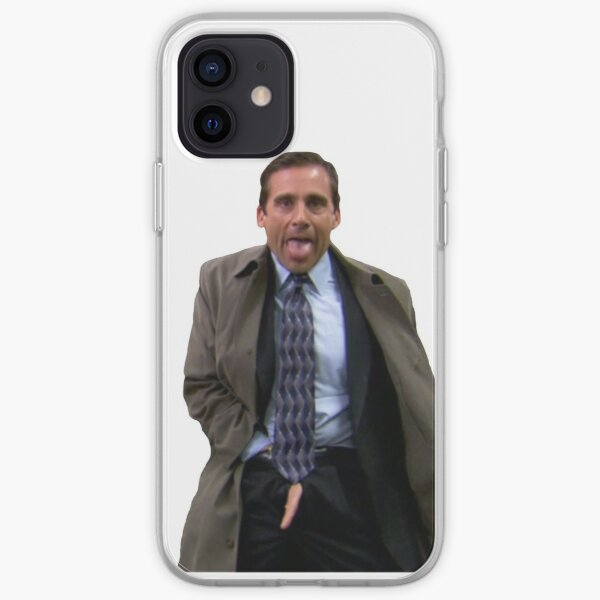Michael flashing iPhone Soft Case