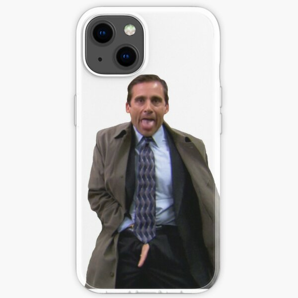 Michael flashing iPhone Soft Case