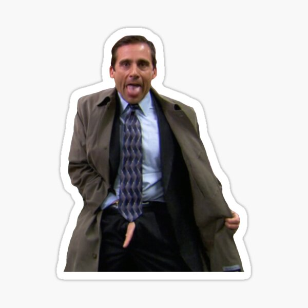 Michael clignotant Sticker
