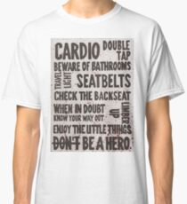 The Rules of Zombieland Classic T-Shirt