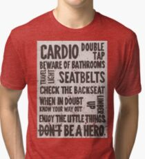 The Rules of Zombieland Tri-blend T-Shirt