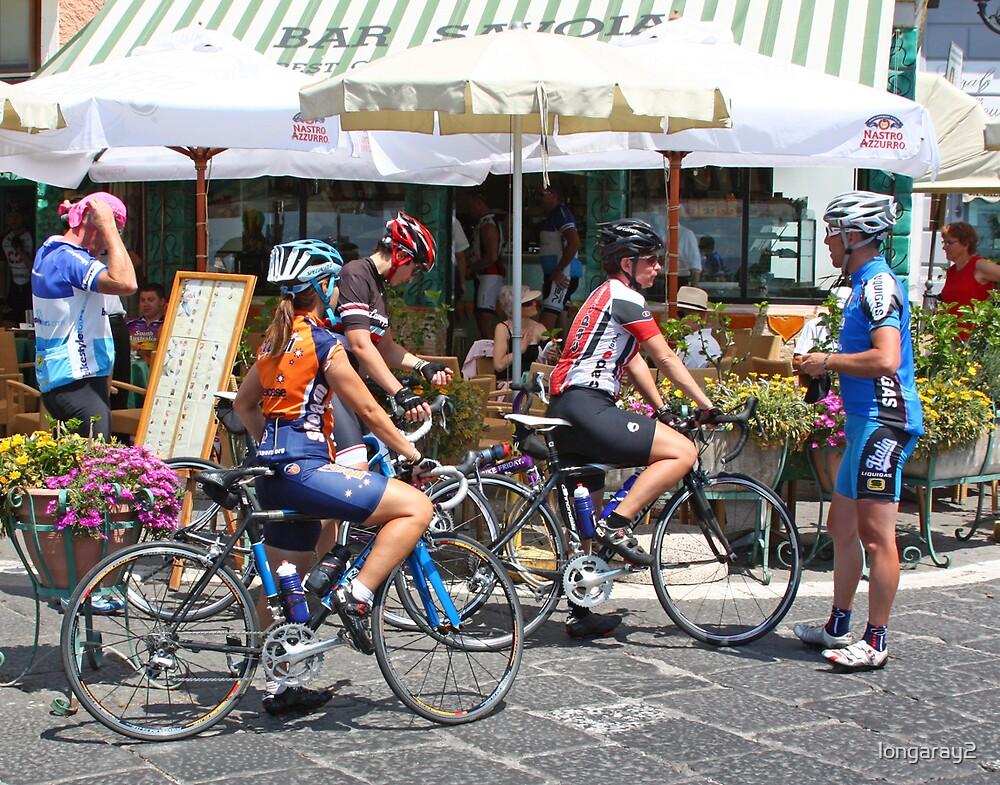 Amalfi Participants in the Giro de Italia by longaray2
