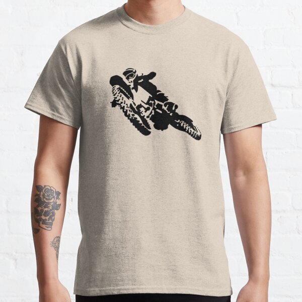 motocross Camiseta clásica