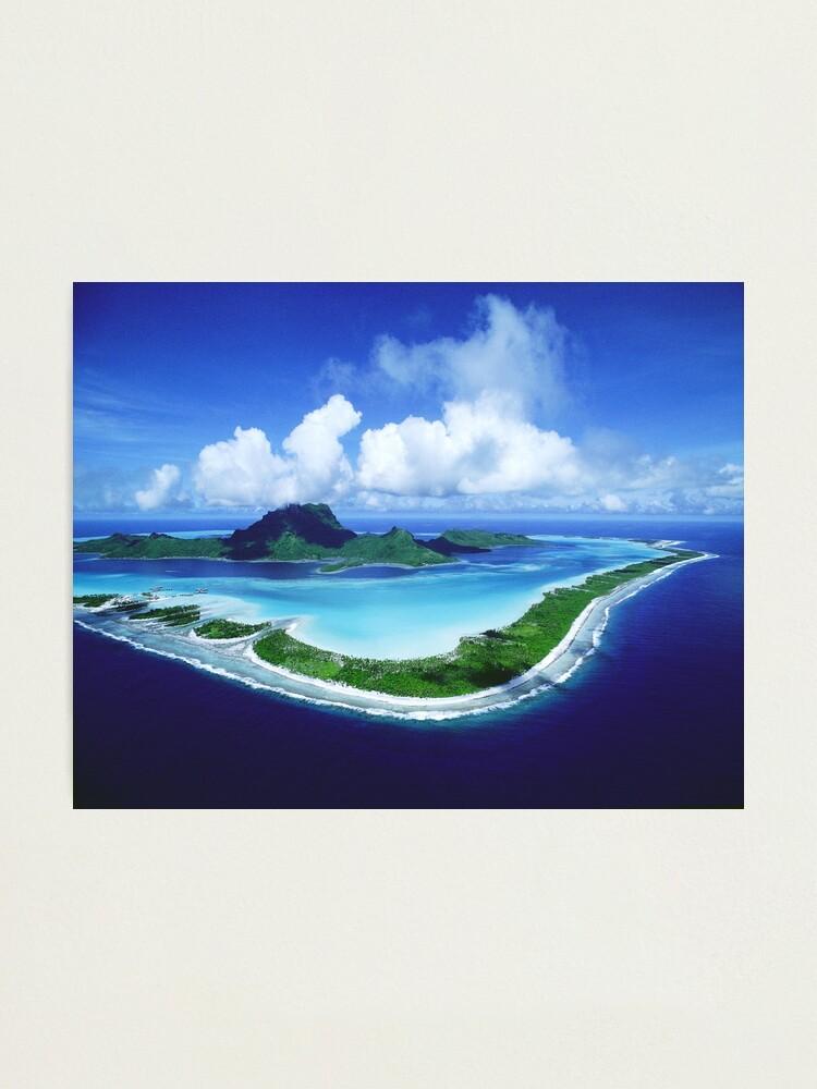 Alternate view of Bora Bora Island Photographic Print