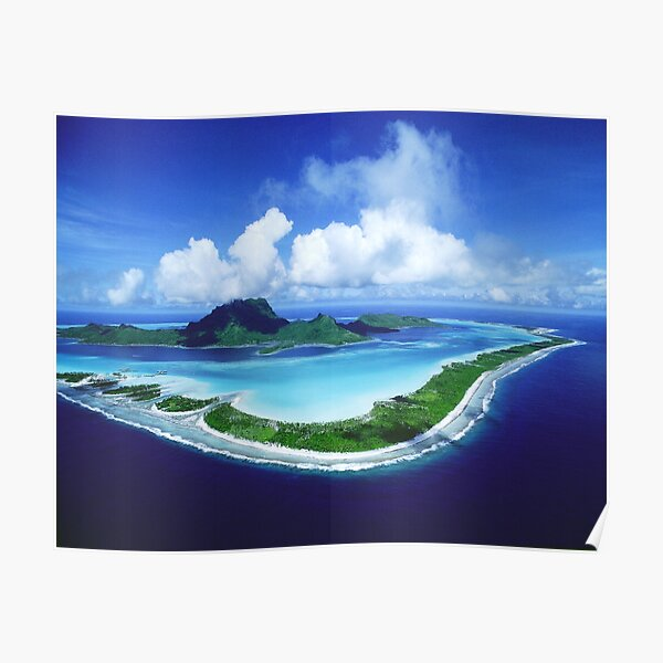 Bora Bora Island Poster