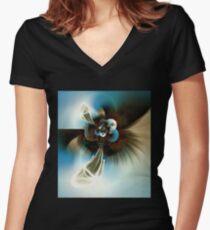 Pilgrim Women's Fitted V-Neck T-Shirt