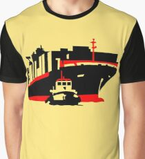 Container Ship Graphic T-Shirt