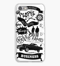 Fam Business iPhone Case/Skin