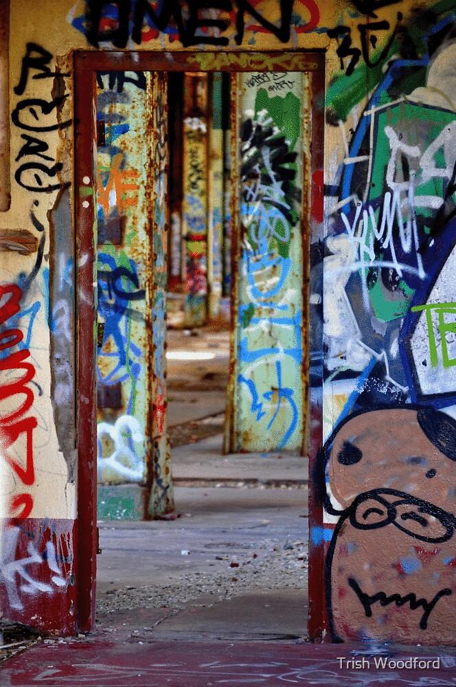 Graffiti Maze by Trish Woodford