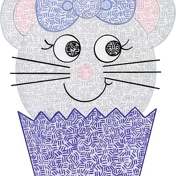 Mouse Cupcale by emilykcreations