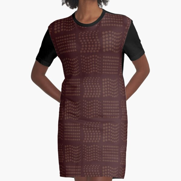 The Missing Element Graphic T-Shirt Dress