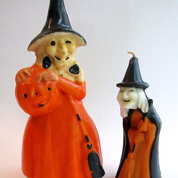 Vintage Halloween Witches by collageDP