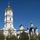 Golden Domes by Elena Skvortsova