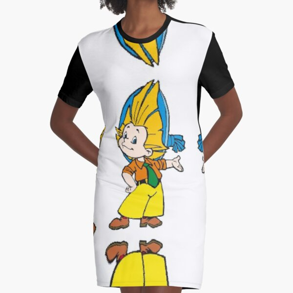 Незнайка, Dunno, Know-Nothing, #Незнайка, #Dunno, #KnowNothing  Graphic T-Shirt Dress