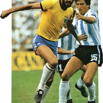 Sócrates, Football Legend by opngoo