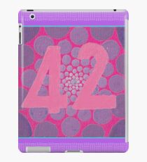 42, the answer iPad Case/Skin