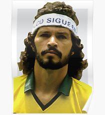 Sócrates, Football legend 2 Poster