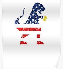 Beer Saurus Rex US Poster