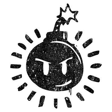 Sex Bob-Omb Bomb Logo by huckblade