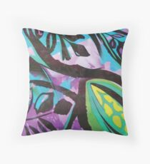 Botanical Print Floor Pillow