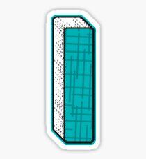 Alphabets - Blue | YWZMLS  8 Sticker