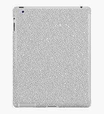 John Mulaney The Comeback Kid Transcript iPad Case/Skin