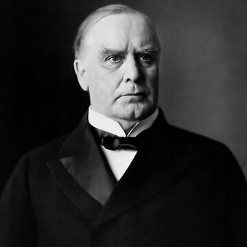 William McKinley Photo Portrait by warishellstore
