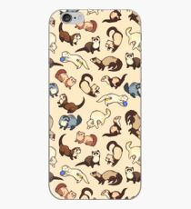 cat snakes iPhone Case