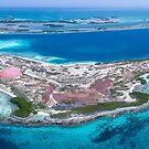 «Panorámica Isla Loco Los Roques Venezuela» de Org Bluewater