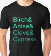 AKC Scent Work Scents Unisex T-Shirt
