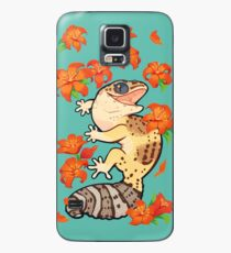 Fire lily gecko Case/Skin for Samsung Galaxy