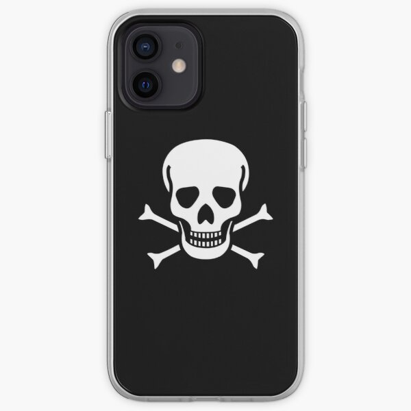 Skull and Crossbones iPhone Soft Case