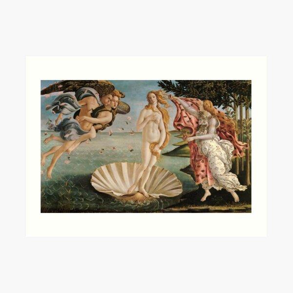 Schongauer tentación de San Antonio grabado arte impresión enmarcado 12x16
