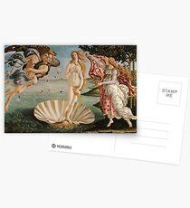 Die Geburt der Venus Malerei Postkarten