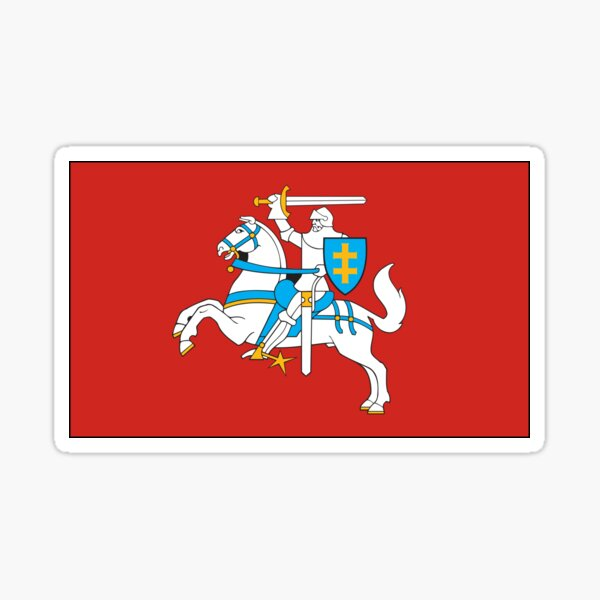 Vytis - Historical Flag of Lithuania Sticker